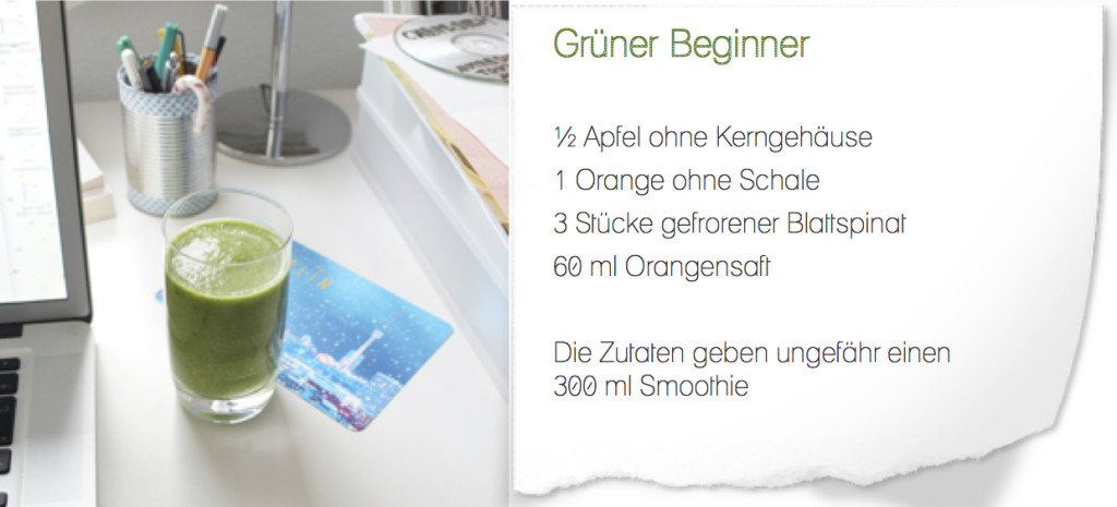 grüner beginner