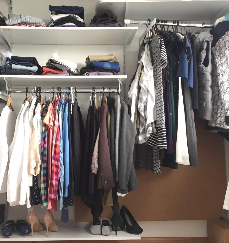 Kleiderschrank Update